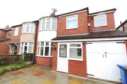 4 Bedrooms Semi Detached House for sale in Cranleigh Drive, Cheadle, Greater Manchester