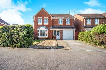 4 Bedrooms Detached House for sale in Kinlet Close, Damiler Green, Coventry