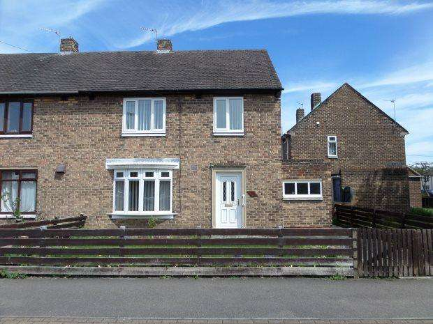 3 Bedrooms Semi Detached House for sale in SHARP CRESCENT, GILESGATE, DURHAM CITY