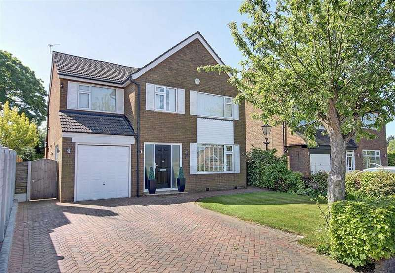 4 Bedrooms Detached House for sale in Crabtree Avenue, Hale Barns, Cheshire