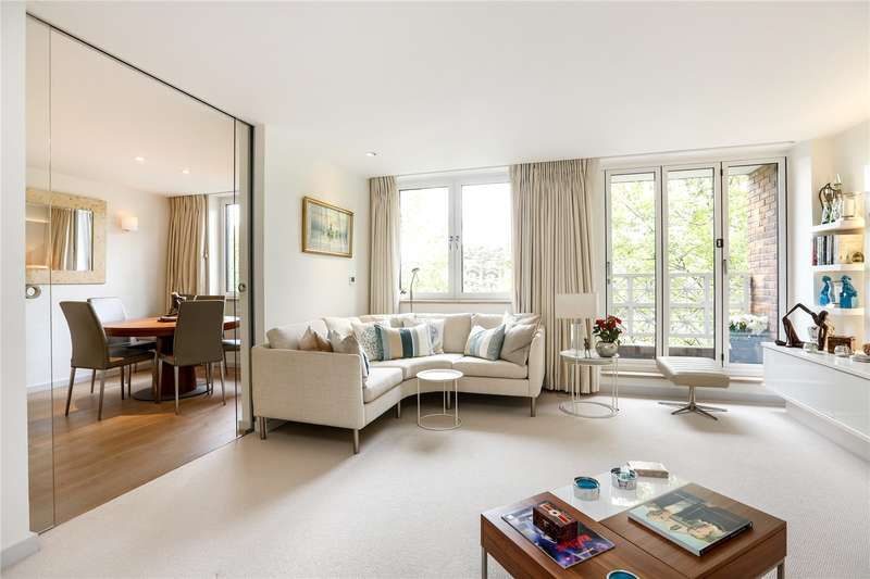 2 Bedrooms Flat for sale in Boleyn Lodge, 2 Marryat Road, London, SW19