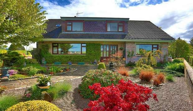 4 Bedrooms Detached House for sale in Kingsfield Road, Kintore, Inverurie, Aberdeenshire