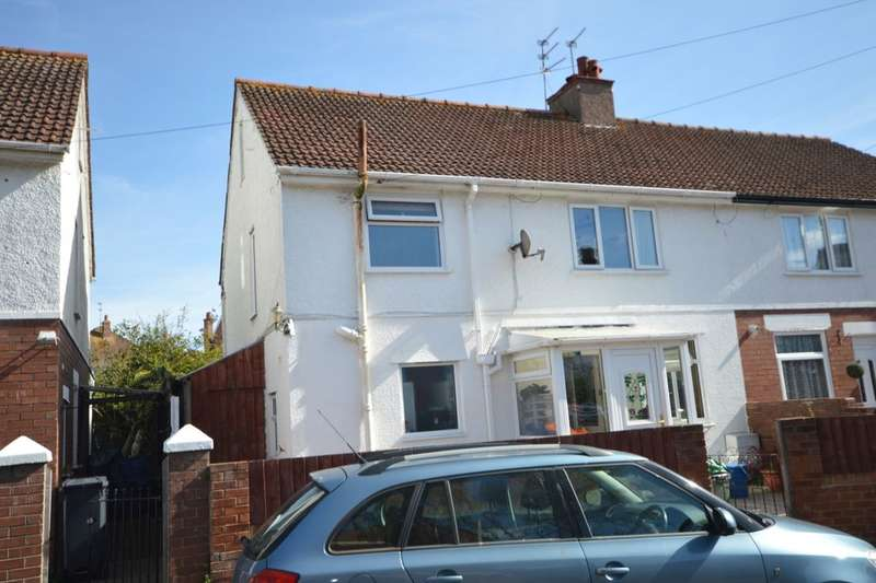 3 Bedrooms Semi Detached House for sale in Bridge Road, Exmouth, EX8