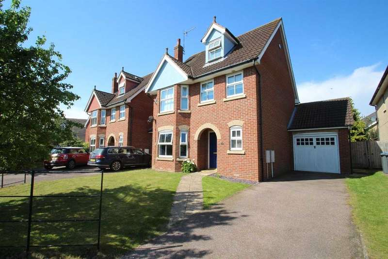 4 Bedrooms Detached House for sale in Goodman Grove, Grange Farm, Kesgrave, Ipswich