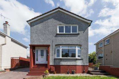 3 Bedrooms Detached House for sale in Larchfield Drive, High Burnside, Glasgow, South Lanarkshire