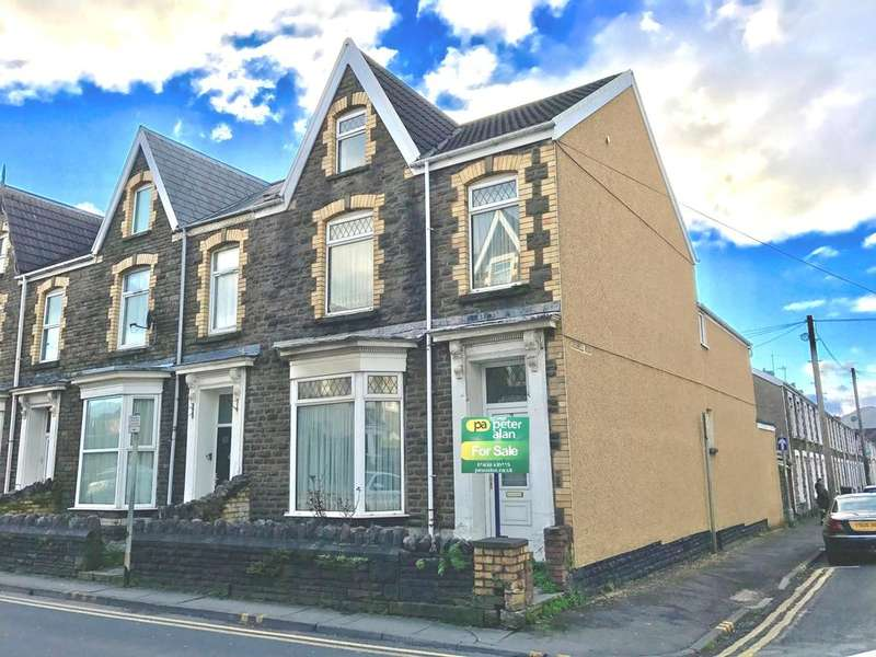 4 Bedrooms End Of Terrace House for sale in Victoria Gardens, Neath