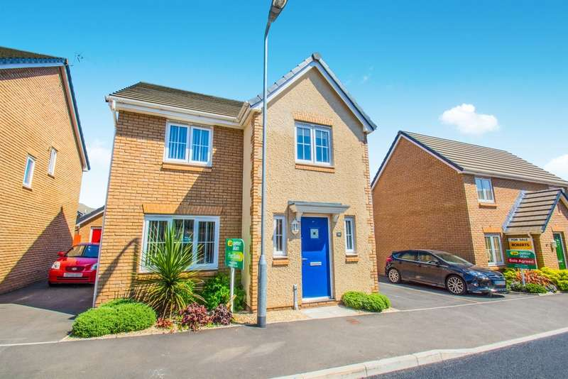 4 Bedrooms Detached House for sale in Heol Senni, Bettws, Newport