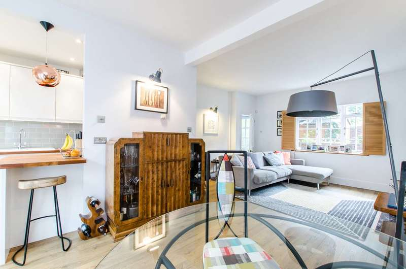 2 Bedrooms House for sale in Needham Terrace, Cricklewood, NW2