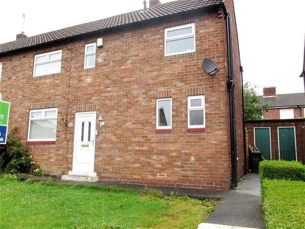 3 Bedrooms Semi Detached House for sale in Haughton Crescent, Newcastle upon Tyne