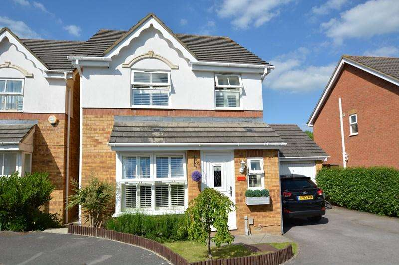 3 Bedrooms Detached House for sale in Cole Close, Andover