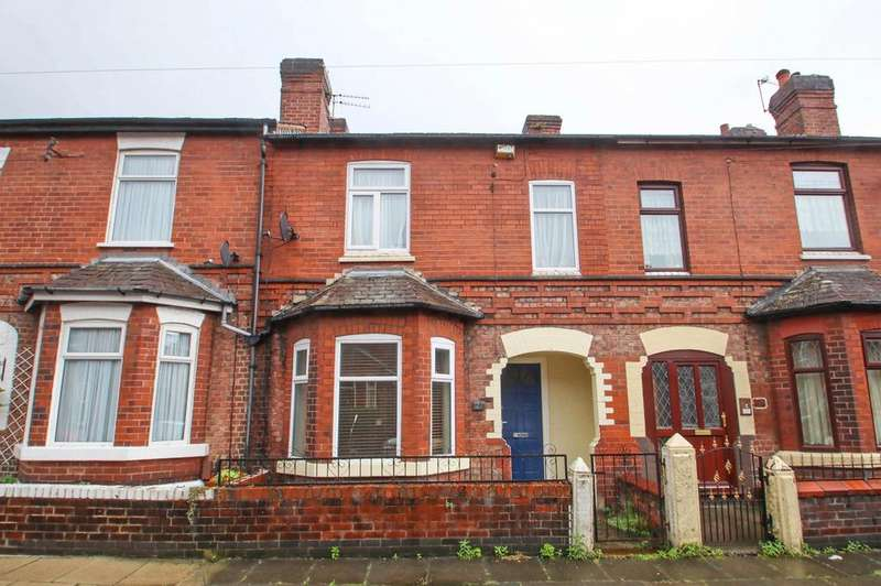 2 Bedrooms Terraced House for sale in Charlton Avenue, Eccles, Manchester, M30