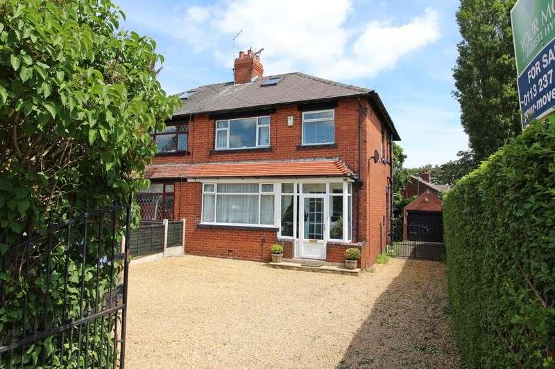 3 Bedrooms Semi Detached House for sale in King Lane, Leeds, LS17