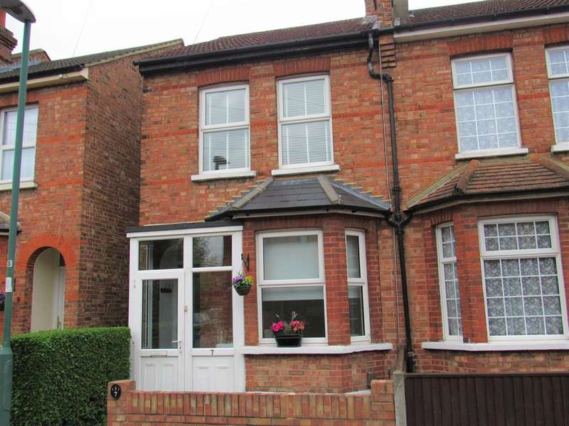 3 Bedrooms Semi Detached House for sale in Wandle Road, Beddington, Surrey, CR0 4SD