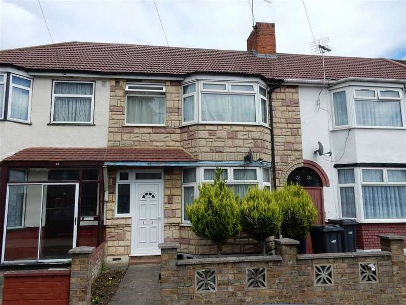 3 Bedrooms Terraced House for sale in Brent Road, Southall, Middlesex