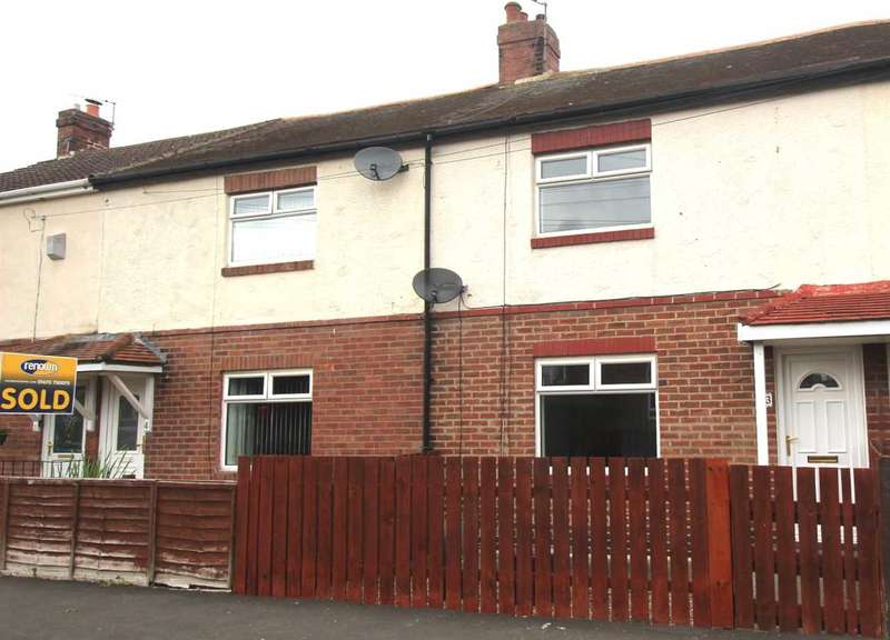 2 Bedrooms Terraced House for sale in Barras Gardens, Annitsford, Annitsford