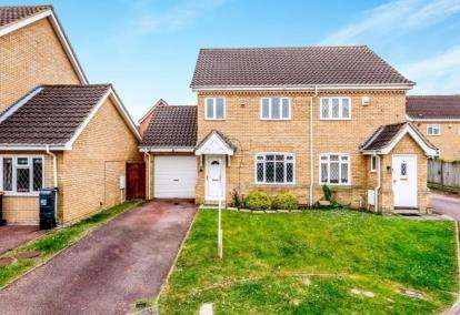 3 Bedrooms Semi Detached House for sale in Pinsent Avenue, Bromham, Bedford, Bedfordshire