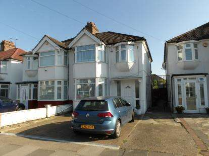 3 Bedrooms Semi Detached House for sale in Hadleigh Road, Edmonton, London