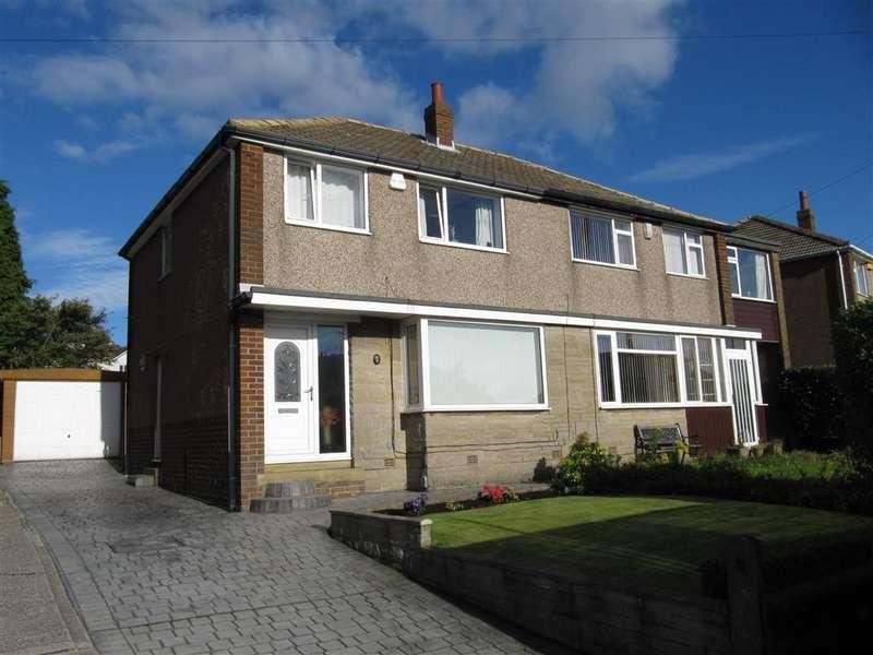 3 Bedrooms Semi Detached House for sale in Deer Croft Avenue, Salendine Nook, Huddersfield, HD3