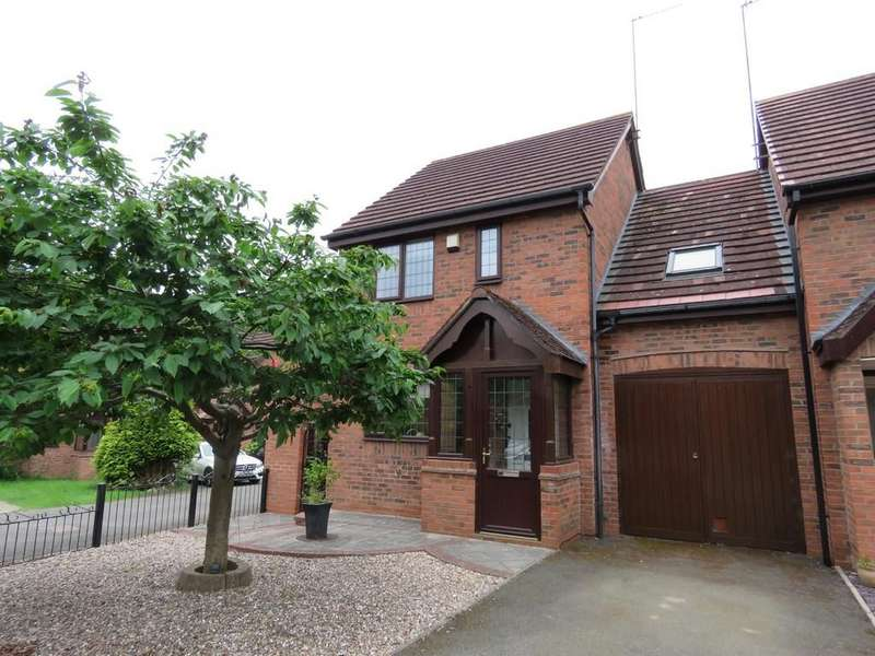 3 Bedrooms Link Detached House for sale in Ashbrook Crescent, Solihull