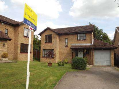 4 Bedrooms Detached House for sale in Silverburn Drive, Oakwood, Derby, Derbyshire