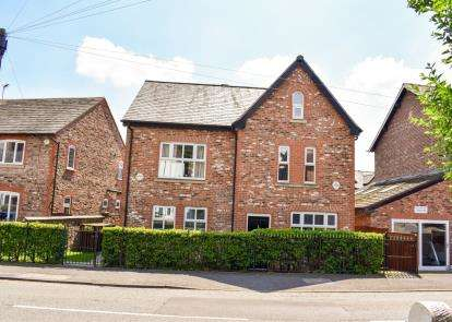 3 Bedrooms Semi Detached House for sale in Brook Lane, Alderley Edge, Cheshire