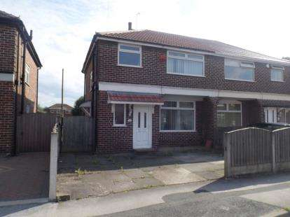3 Bedrooms Semi Detached House for sale in Windsor Avenue, Irlam, Manchester, Greater Manchester