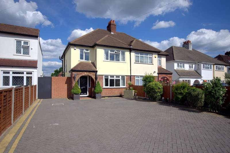 4 Bedrooms Semi Detached House for sale in Old Malden