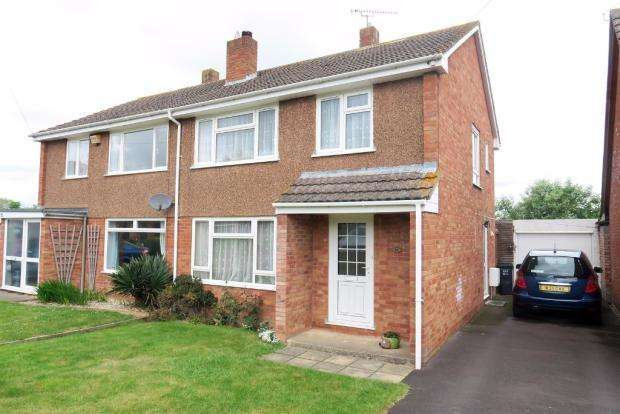 3 Bedrooms Semi Detached House for sale in West View, Creech St Michael, Taunton TA3