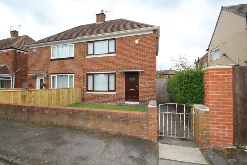 2 Bedrooms Semi Detached House for sale in Chelmsford Road, Hylton Castle, Sunderland, SR5