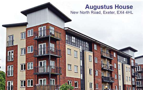 2 Bedrooms Apartment Flat for sale in Augustus House, Exeter
