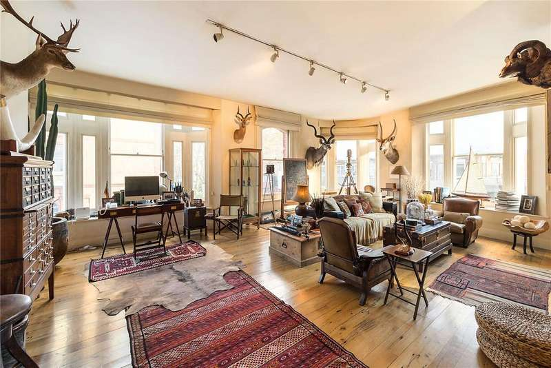 3 Bedrooms Flat for sale in Roland Mansions, Old Brompton Road, London, SW7
