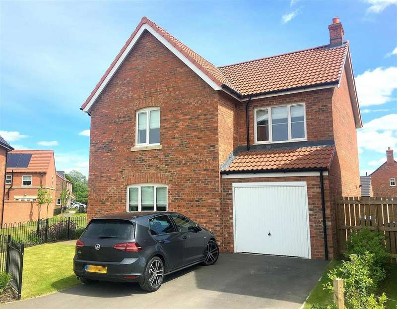 4 Bedrooms Detached House for sale in Poplar Crescent, Sowerby, Thirsk