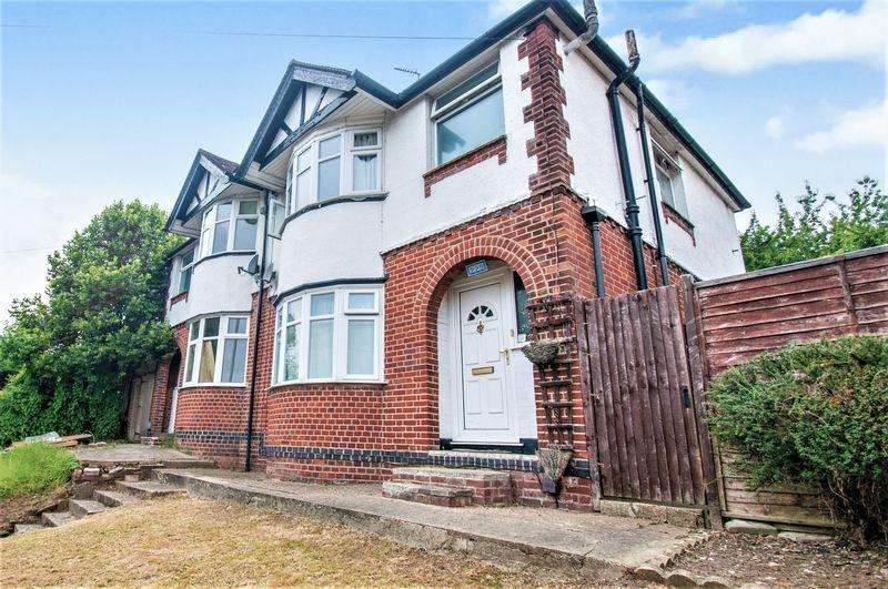3 Bedrooms Semi Detached House for sale in Crawley Green Road, Round Green, Luton, LU2 0QJ