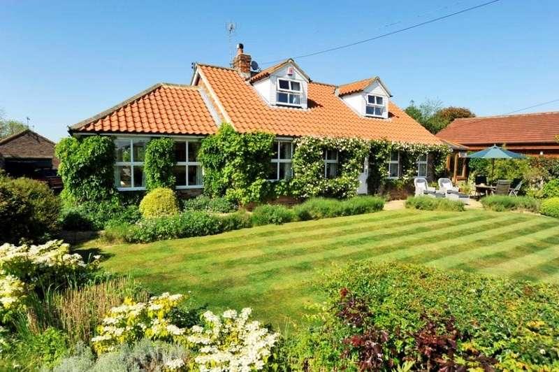 4 Bedrooms Detached House for sale in Hillcrest House, Moor Lane, Arkendale, Knaresborough