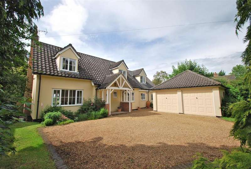 4 Bedrooms Detached House for sale in Lawshall