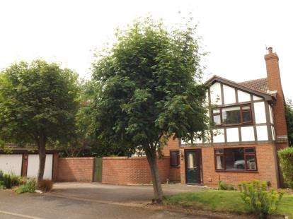 4 Bedrooms Detached House for sale in Walcote Drive, West Bridgford, Nottingham