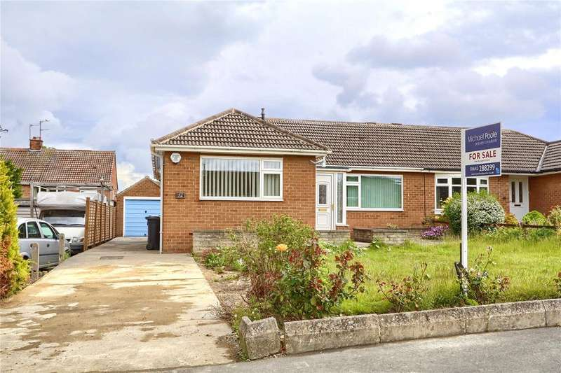 2 Bedrooms Semi Detached Bungalow for sale in Argyll Road, Marton