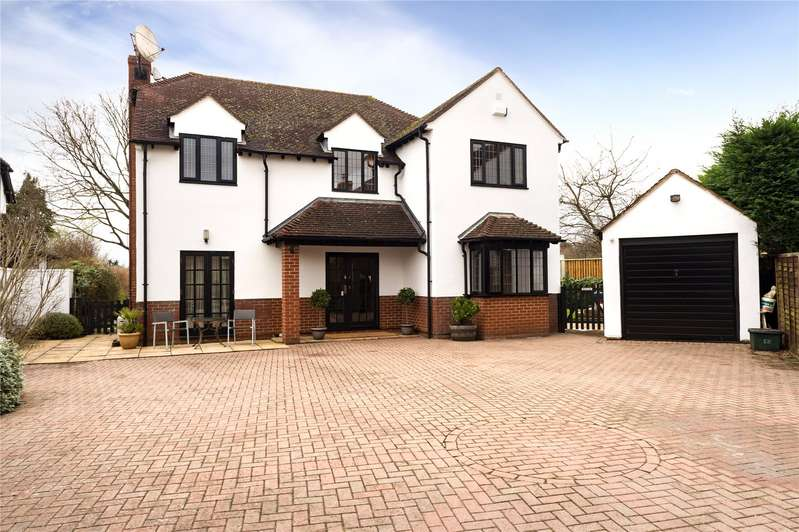 4 Bedrooms Detached House for sale in Woodstock Road, Wolvercote, Oxford, OX2