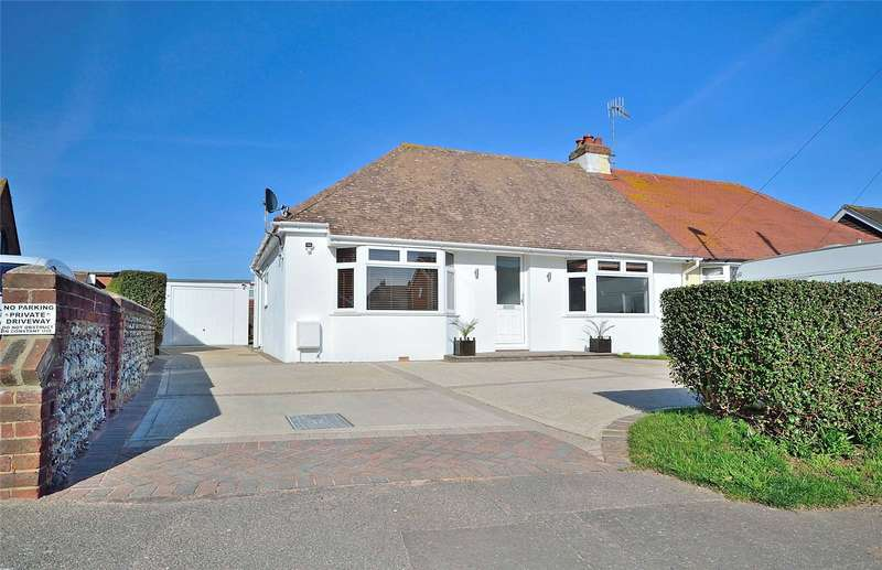 3 Bedrooms Semi Detached Bungalow for sale in Cokeham Road, Sompting, West Sussex, BN15