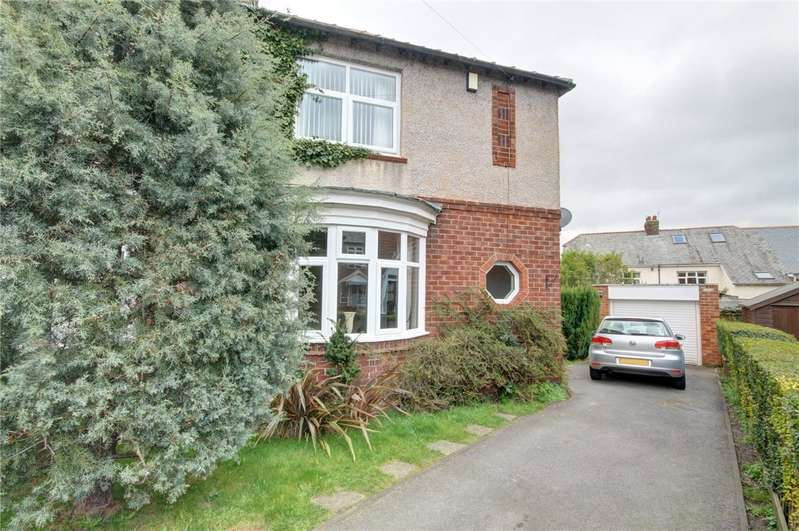3 Bedrooms Semi Detached House for sale in Holmlands Crescent, Durham Moor, Durham, DH1