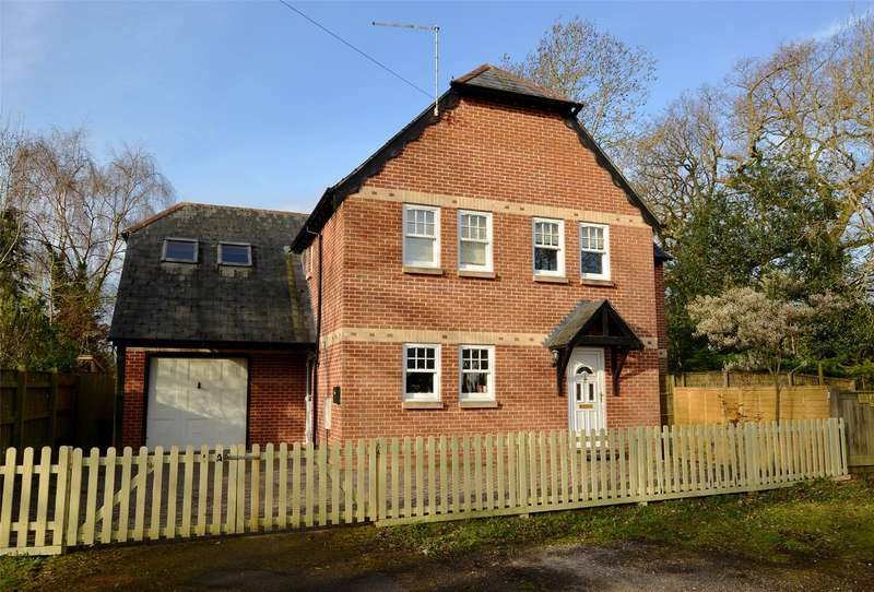 4 Bedrooms Detached House for sale in Fathersfield, Brockenhurst, Hampshire, SO42