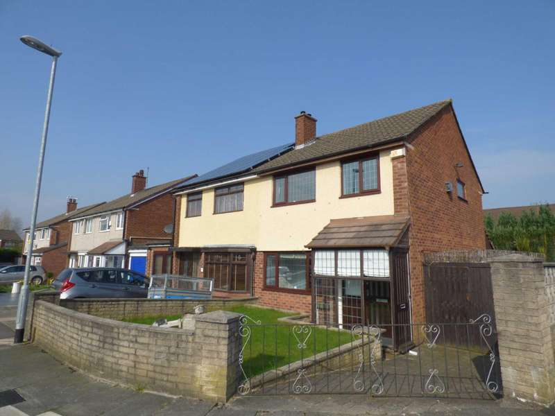 3 Bedrooms Semi Detached House for sale in Coleridge Avenue, Middleton, Manchester, M24