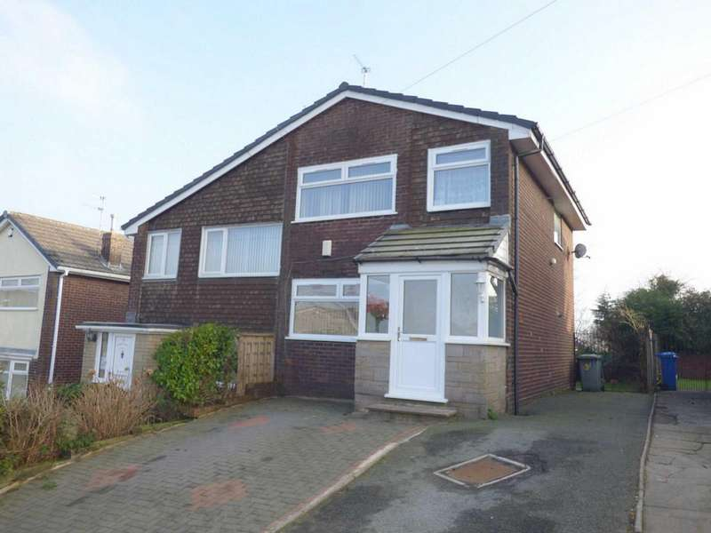 3 Bedrooms Semi Detached House for sale in Brooks End, Norden, Rochdale, Lancashire, OL11