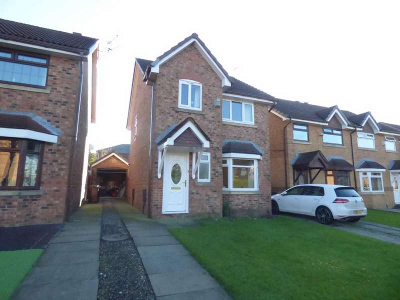 3 Bedrooms Detached House for sale in Crocus Drive, Royton, Oldham, OL2