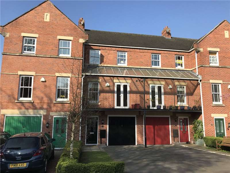 4 Bedrooms Town House for sale in St. Laurence Gardens, Belper, Derbyshire, DE56