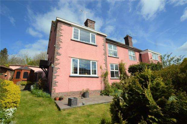 4 Bedrooms Semi Detached House for sale in Garden Croft, The Burrowe, Crediton, Devon