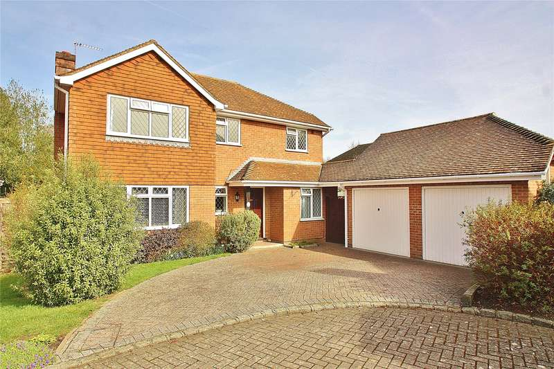 4 Bedrooms Detached House for sale in Nasturtium Drive, Bisley, Woking, Surrey, GU24