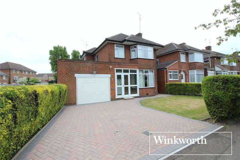 3 Bedrooms Detached House for sale in Manor Way, Borehamwood, Hertfordshire, WD6