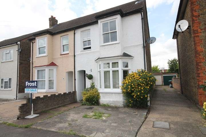 3 Bedrooms Semi Detached House for sale in Camden Avenue, Feltham, TW13
