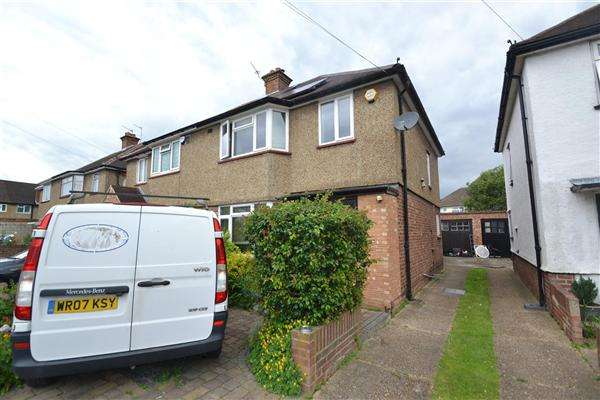 3 Bedrooms Semi Detached House for sale in Edward Road, Bedfont